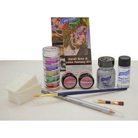 Graftobian Make-Up Company Mardi Gras And Latex Fantasy Dance Kit