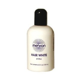 Mehron Hair White 4.5 oz.