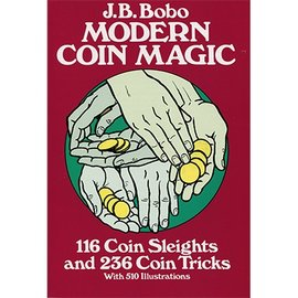 Dover Publications Modern Coin Magic by JB Bobo, Dover - Book(M7)