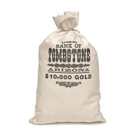 Forum Novelties Money Bag - Old West Bank Of Tombstone (C13)