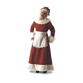 Halco Dlx Mrs. Claus - Adult Small 8-10
