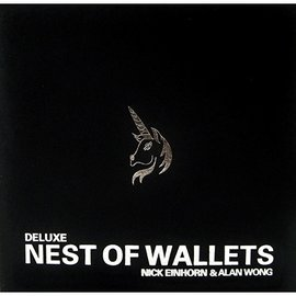 Alan Wong Nesting Wallets (Deluxe Nest of Wallets) DVD and Props by Nick Einhorn and Alan Wong
