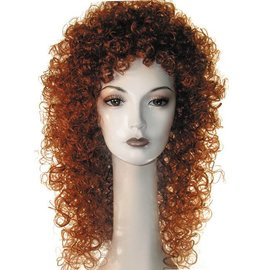 Lacey Costume Wig New Curly Auburn Wig