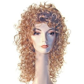 Lacey Costume Wig New Curly Lt. Blonde Wig