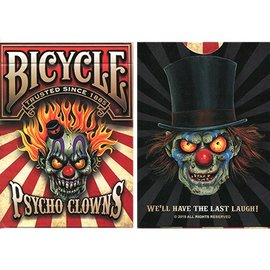 Brotherhood Of Highway Bicycle Psycho Clowns Playing Cards - Limited Edition