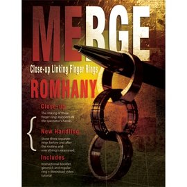 Paul Rohmany Merge (Gimmicks and Instruction) by Paul Romhany - Trick