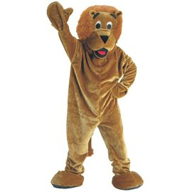 Dress Up America Roaring Lion Mascot  - Adult