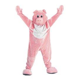 Dress Up America Pig Mascot