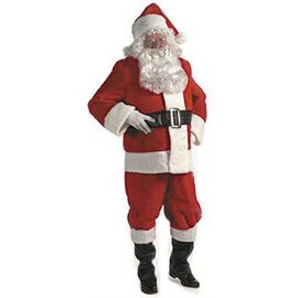 Halco Quality Plush Santa Suit - 42-48