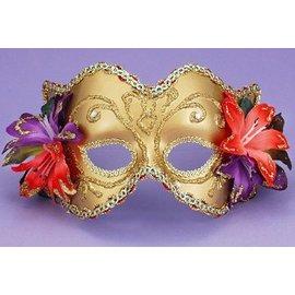 Forum Novelties Venetian Style Mask - Tropical Flowers MK-047