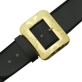 Halco Santa Belt With Decorative Cast Buckle - Extra Large