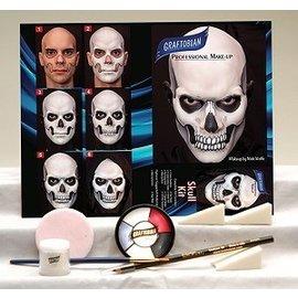 Graftobian Make-Up Company Skull Theatrical Make-Up Kit (C3)