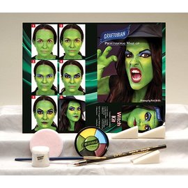 Graftobian Make-Up Company Witch Theatrical Make-Up Kit (C3)
