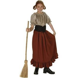 RG Costumes And Accessories Peasant Girl Child Large 12-14 Renaissance Peasant