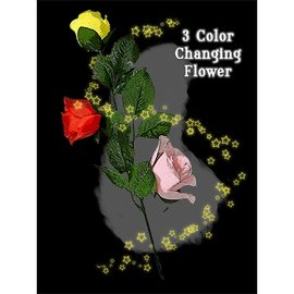 JL Magic Three Color Changing Floating Flower