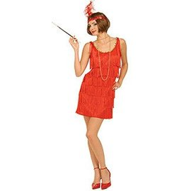 Forum Novelties Flapper Red, Adult M/L 8-12