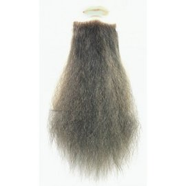 Lacey Costume Wig Beard 1890S Pointed Goatee - Grey 9 inch