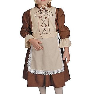 Dress Up America Colonial Girl - Child 12-14  sc 1 st  Ronjo & Colonial Girl - Child 12-14 - Ronjo Magic Costumes and Party Shop