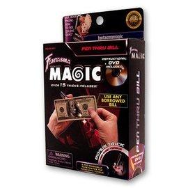 Fantasma Toys Pen Through Bill w/DVD by Magick Balay  (M10)