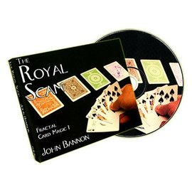 Fun inc. The Royal Scam (Cards and DVD) by John Bannon -  DVD