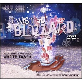 JB Magic Twisted Blizzard by J. Aaron Delong  - Deck and DVD