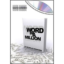 JB Magic Word In Million - Book Test by Nicholas Einhorn - DVD