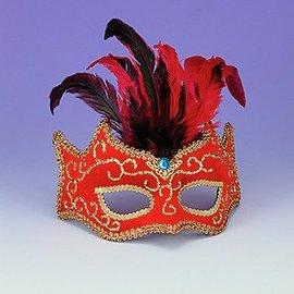 Forum Novelties Venetian Mask Red - Best Ever MJF-147