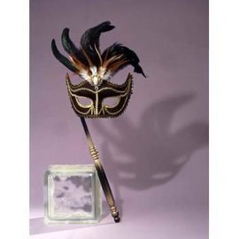 Forum Novelties Venetian Mask  With Stick MJ-249