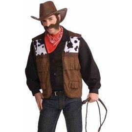 Forum Novelties Cowboy Vest, Adult One Size 42