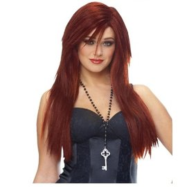 Costume Culture by Franco American Sleek Wig - Natural Red