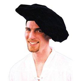 Morris Costumes Renaissance Hat Black