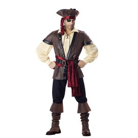 InCharacter Rustic Pirate - Adult Large 42-44