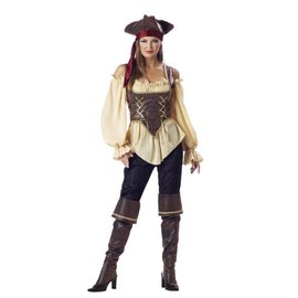 InCharacter Rustic Pirate Lady - Adult Medium 8-10