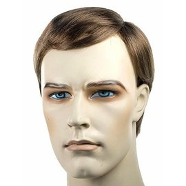 Lacey Costume Wig Sidepart Men Brown 12 Wig