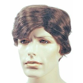 Lacey Costume Wig Sidepart Men's, Salt and Pepper Wig