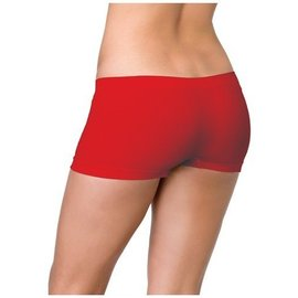 Leg Avenue Seamless Boyshorts Red