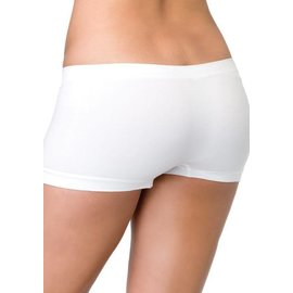 Leg Avenue Seamless Boyshorts White