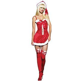 Morris Costumes Sexy Miss Claus LG