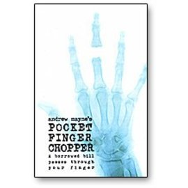 Andrew Mayne Pocket Finger Chopper by Andrew Mayne - Book (M7)