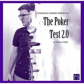 Pinnacle Spades Poker Test 2.0 (DVD and Gimmick) by Erik Casey