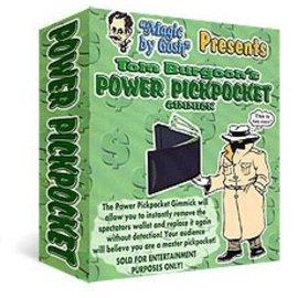 Magic By Gosh Power Pickpocket by Tom Burgoon (M10)