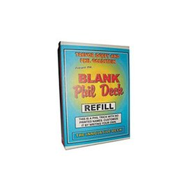 Refill for Blank Phil Deck by Trevor Duffy s (M10)