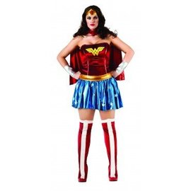 Rubies Costume Company Wonder Woman Deluxe, Plus Size - DC Comics