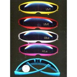 Robot Style Sunglasses Blue