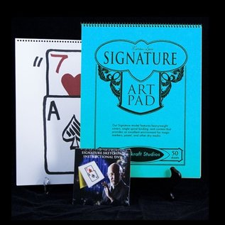 Magikraft Studios Signature Edition Sketchpad Card Rise by Martin Lewis