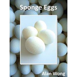 Alan Wong Sponge Eggs, 4 Pack by Alan Wong