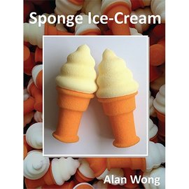 Alan Wong Sponge Ice Cream Cone by Alan Wong
