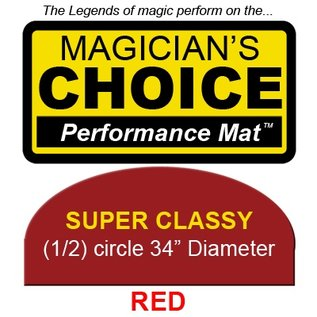 Ronjo Super Classy Close-Up Mat - Red Performance