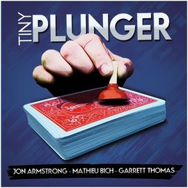 Kozmo Magic Tiny Plunger by John Armstrong (DVD and Gimmick)