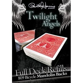 Paul Harris Presents Card -Twilight Angel Full Deck Refill, Red Mandolin by Paul Harris (M10)